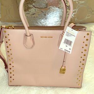 Michael Kors light pink purse
